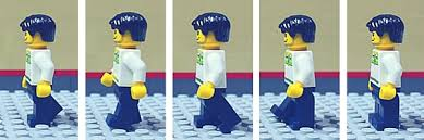LEGO man walking